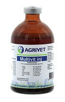 MULTIVIT INJECT AGRIVET 100ML.REGNL.8010
