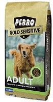 PERRO GOLD SENSITIVE ADULT 15KG.
