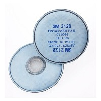 FILTER 3M 2128  P2/ORG/ZR.  2ST.